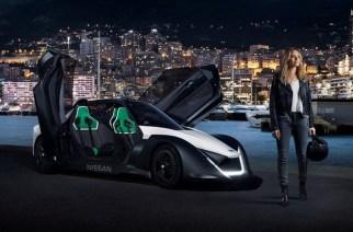 La actriz Margot Robbie, embajadora de los autos eléctricos de Nissan