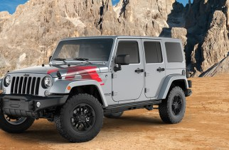 El rey del desierto, Jeep Wrangler Unlimited Sahara Winter Edition 2017