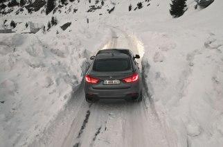 BMW X6, en busca del mejor video en nieve