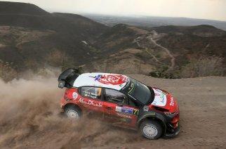 WRC México: Meeke y Citroën lideran el accidentado viernes