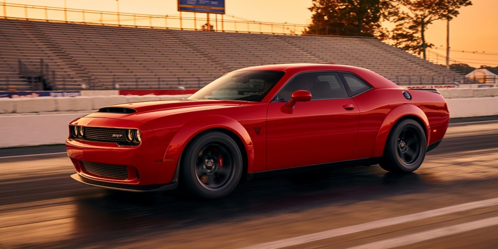 Auto Show de Nueva York 2017: Dodge Challenger SRT Demon 2018