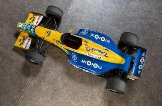 A la venta el fórmula 1 Benetton de Michael Schumacher