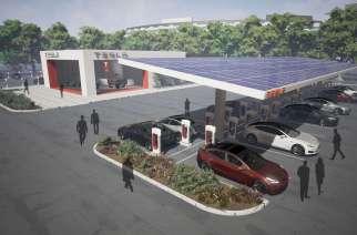 """Tesla """"recargado"""": anuncia expansión de supercargadores"""