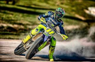 Valentino Rossi abandona el hospital tras su accidente en motocross
