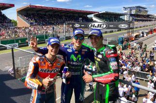 Viñales conquista Le Mans y Rossi cae al suelo en la ultima vuelta