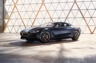 Así se ve el nuevo concepto BMW Serie 8