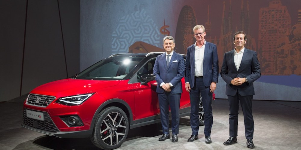SEAT Arona, el nuevo SUV compacto se presenta en Barcelona