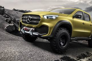 ¿Una Mercedes-Benz Pick-Up? Llega la X-Class