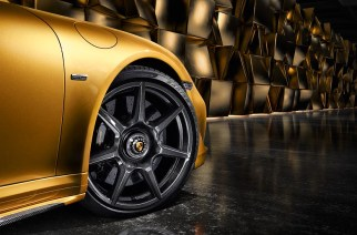 Rines de fibra de carbono trenzada para el Porsche 911 Turbo S Exclusive Series