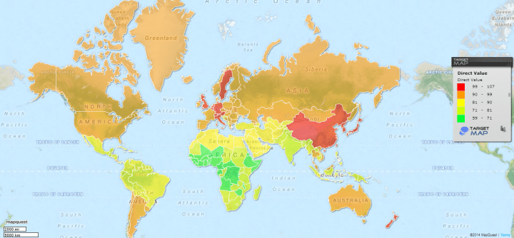 Who Are the Smartest People on Earth? World Map of Average IQ Scores ...