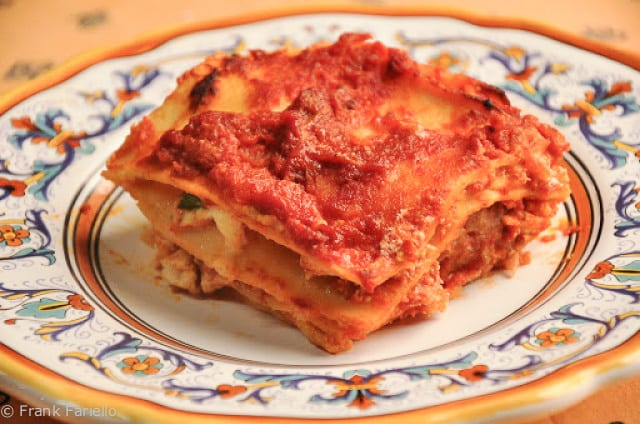 Angelina's Lasagna di Carnevale (Lasagna for Carnival)