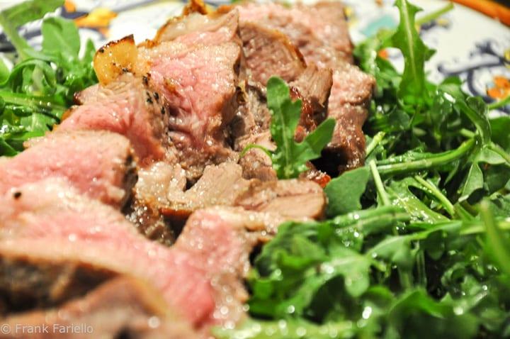 Lamb Tagliata