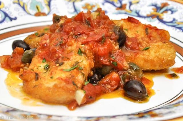 Baccalà alla napoletana (Neapolitan-Style Braised Codfish)