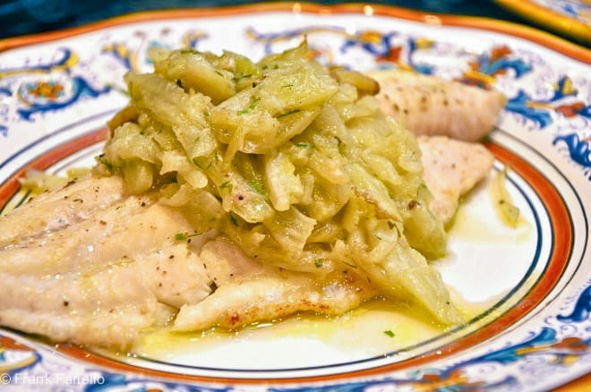Baked Fish with Braised Fennel