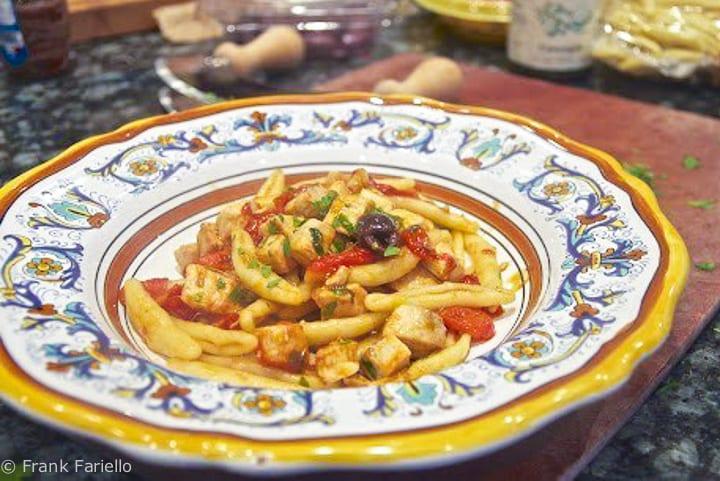 Pasta with Swordfish