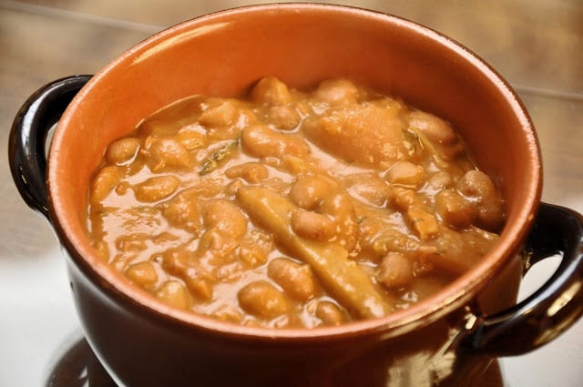 Roman-Style Pork and Beans
