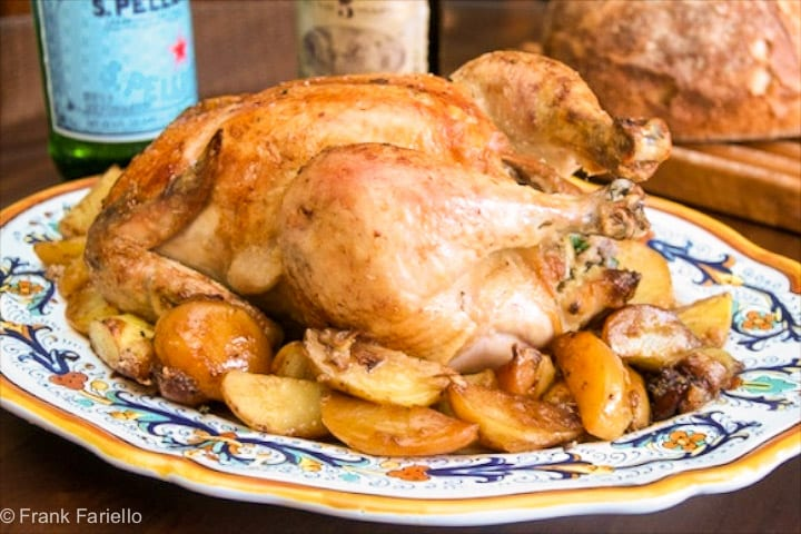 Angelina's Roasted Chicken