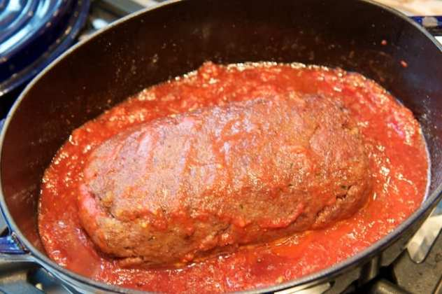 funghi (Meatloaf in Tomato and Mushroom Sauce) | Memorie di Angelina ...