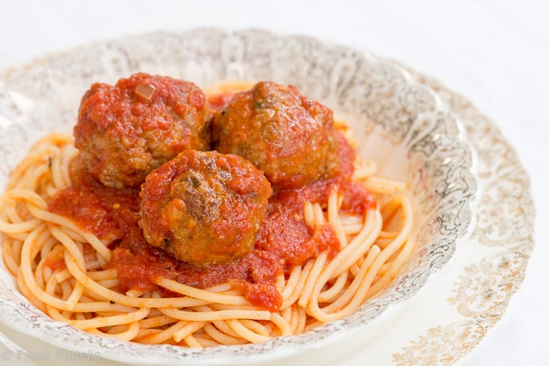 Columbus Day Special: Spaghetti and Meatballs