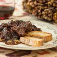 Cinghiale in agrodolce (Sweet and Sour Wild Boar)