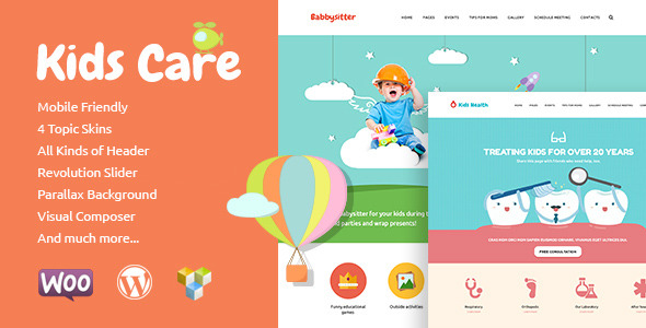 Best WordPress Themes for Kids Website