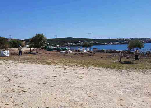 Maó finaliza el acondicionamiento de S'hort de Calceta y Sa Punta