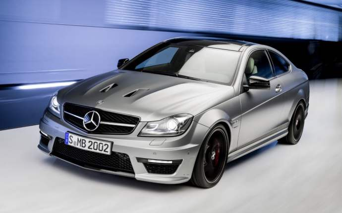 2014-Mercedes-Benz-C63-AMG-Edition-507-Coupe-front-three-quarter-4-1024x640
