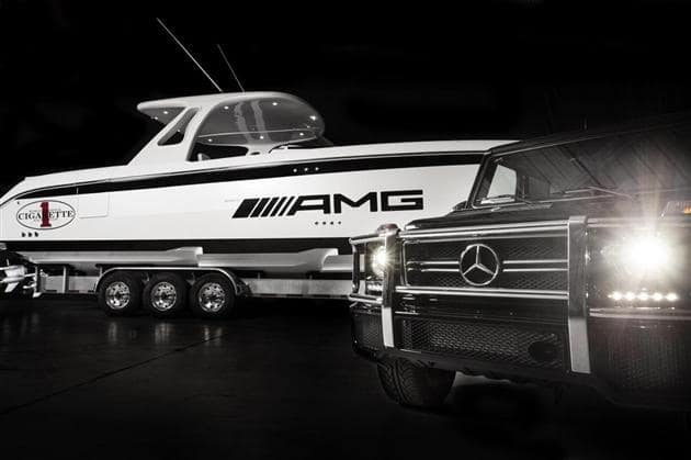 Mercedes-Benz-G63-AMG-Inspired-Cigarette-42-Huntress-Boat-2
