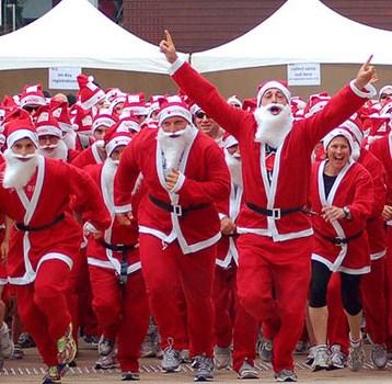 Top 10 Santa Fun Runs