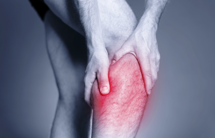 how to cure calf pain