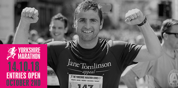 ENTRY OPENS FOR THE PLUSNET YORKSHIRE MARATHON
