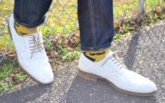mustache socks