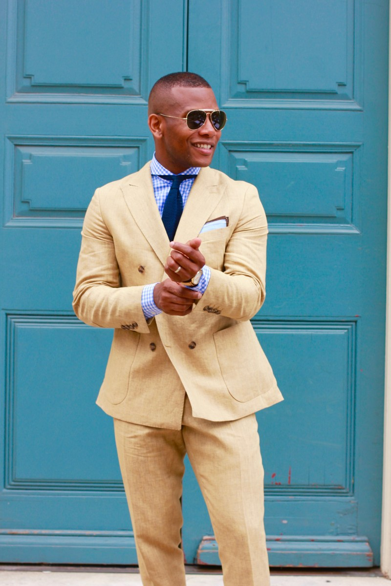 The Linen Suit That Got Me Through The Summer