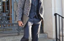 Men's Style Pro in Cardigan as Outerwear