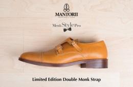 Men's Style Pro x Mantorii Double Monk Strap