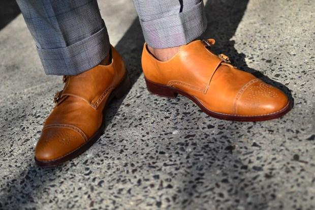 Men's Style Pro x Mantorii Custom Shoe