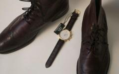 88 RUE DU RHONE watch x Johnston & Murphy Boots