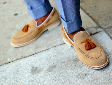 Johnston & Murphy Ellington Moc Toe Loafers