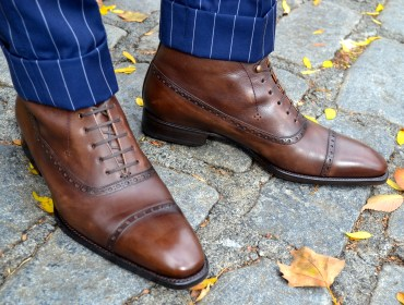 Cobbler Union Brown Leather boots