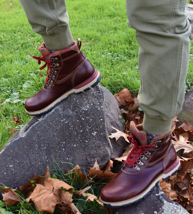 Sabir M. Peele of Men's Style Pro in Timberland Hiking Boots 13