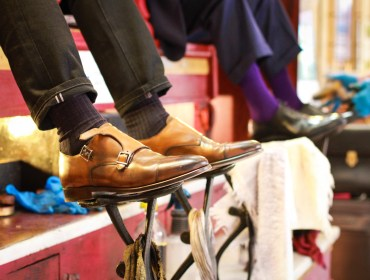 Men's Style Pro review of SuitSupply Blake Constructed Double Monk Strap Shoe