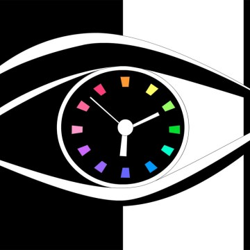eye-clock-screensaver