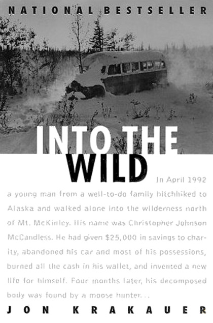 into the wild cover1 Bibliophile's Corner
