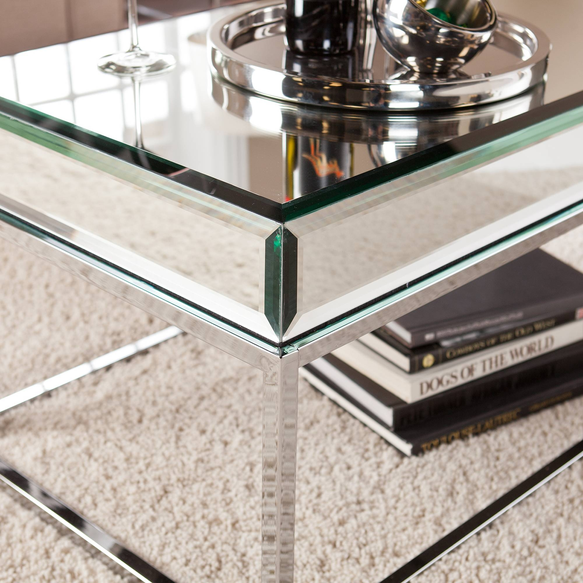 Fullsize Of Mirrored Coffee Table