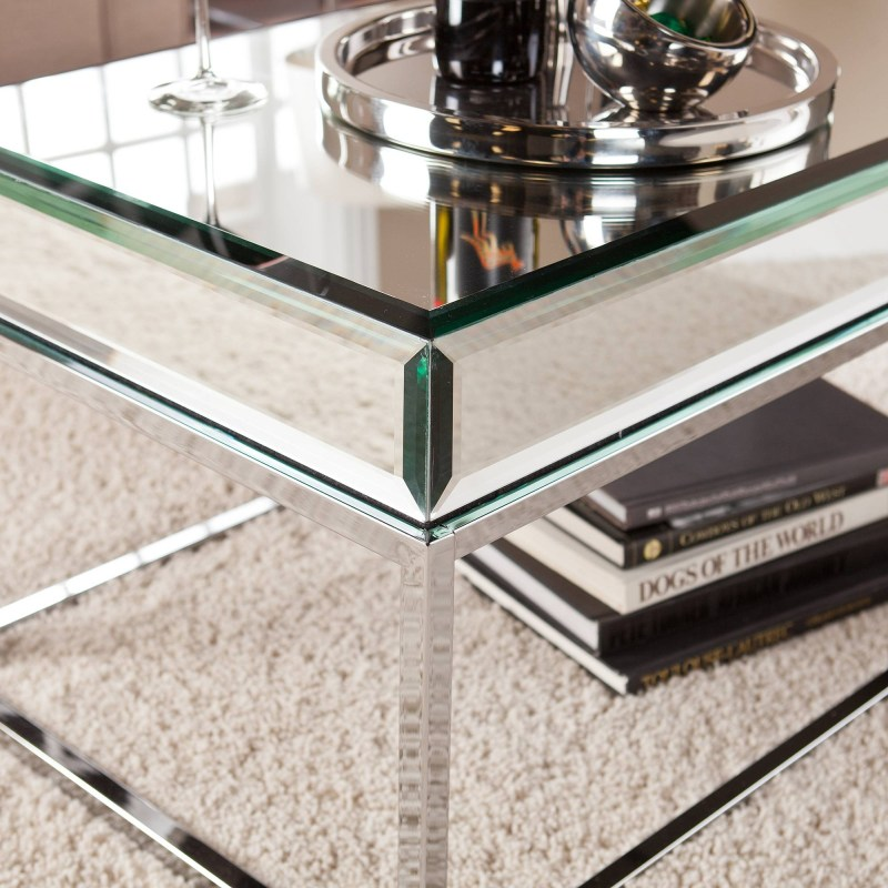 Large Of Mirrored Coffee Table