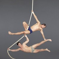 MEN DOING ACROBATICS... HOT