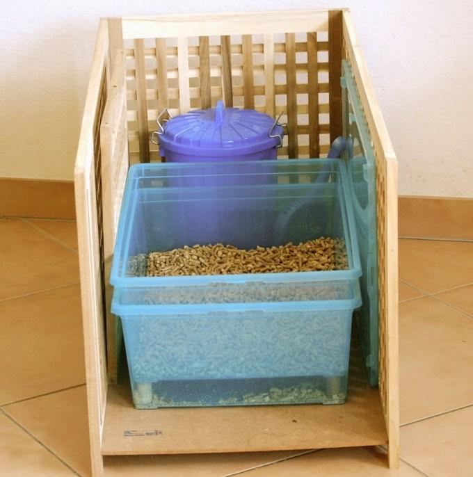 Diy Cat Pellet Box