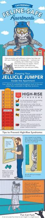 High-Rise Syndrome in cats living in apartment buildings