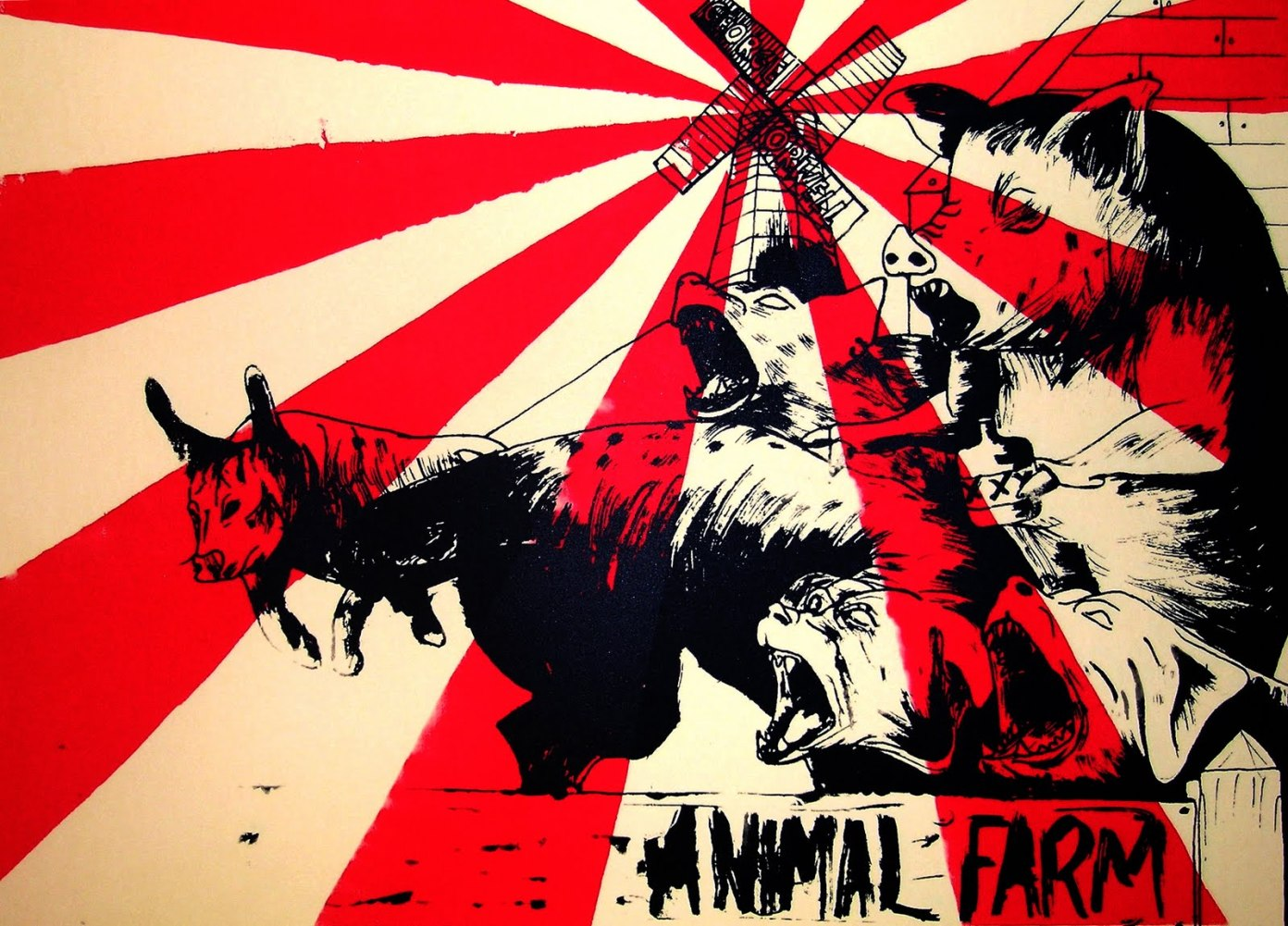 George Orwell - animal farm Pictures of animal farm the book