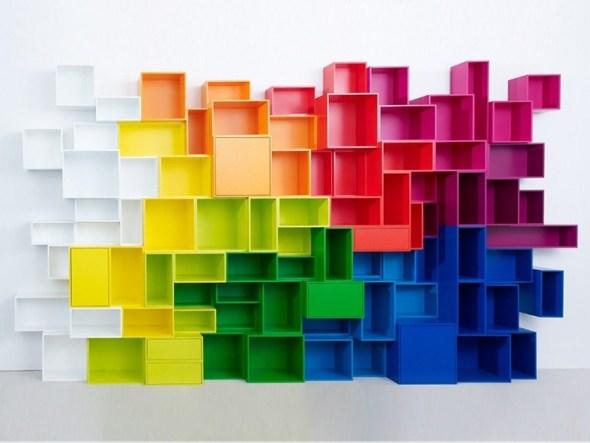 Modular shelf by cubit